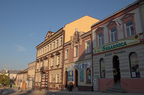 Grybów - rynek, Liceum im. Artura Grottgera
