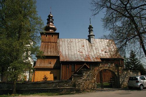 Krużlowa, zabytkowy kościół