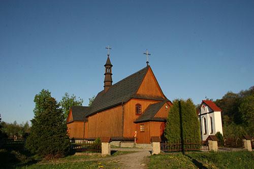 Polna, zabytkowy kościół