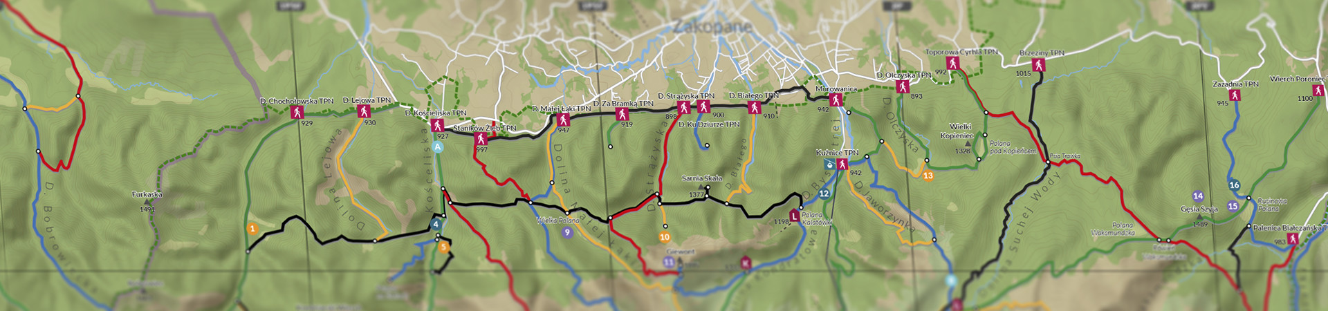 mapa_Zakopane_1